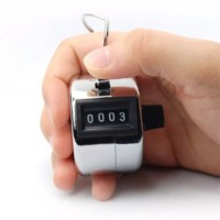 Hand tally counter 4 digit / alat penghitung cepat manual