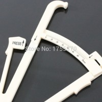 Body Fat Caliper Tester Fitness Analyzer Measure Charts