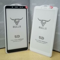 Tempered Glass Full Cover Redmi Note 5 Pro 5D