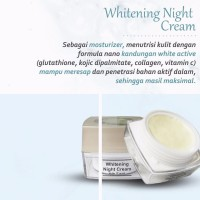 MS GLOW WHITENING NITE CREAM