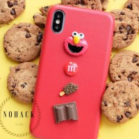 Cookies elmo case ip iphone 5 5s se 6 6s 6+ 6s plus 7 7+ 8 8 + X cute