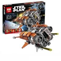 Star Wars Jakku Quadjumper Flight Rey Finn Lego kw 75178 Lepin 05111