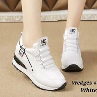 Sepatu Wanita Kets Casual SDS257 Putih