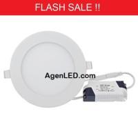 Lampu Downlight LED Panel 6W Putih 6 W Watt 6Watt Tipis Bulat Inbow