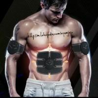 Alat Stimulator Terapi EMS Otot Six Pack ABS Abdominal Muscle Exercise
