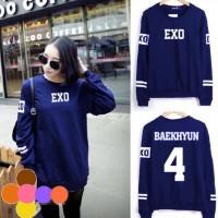 DAMAI FASHION - baju atasan sweater EXO BAEKHYUN - murah jakarta