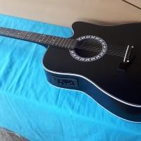 Gitar akustik elektrik jumbo fg425 yamaha