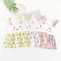 Rabitto Dress Baju Gaun Pesta Anak Bayi Perempuan Import