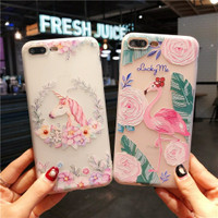 Luminous Case Flamingo, Unicorn & Friend For Oppo F3