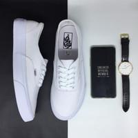 Sepatu Vans Authentic Classic True White BNIB Original Premium