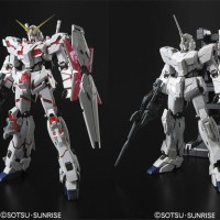BANDAI AX MG 1:100-Unicorn Gundam HD Color MS Cage