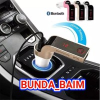 MODULATOR G7 BLUETOOTH TRANSMITTER / SAVER CAR CHARGER MOBIL LIGHTER