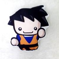 Bantal Boneka Dekorasi Superhero - Large Goku Mini