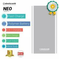 Delcell Powerbank Neo 10000 mah Real Capacity Polymer (10000mah)