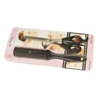 Paket alat cukur gunting sasak dan kerokan sisir