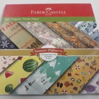 Faber Castell Washi Kertas Origami Motif 16 x 16 (Pak Isi 50 Lembar)