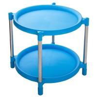 Meja Bulat Plastik Shinpo 843D Romana 843 D Side Table Susun 2