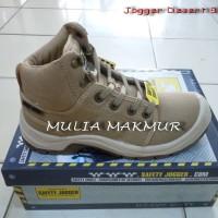 Sepatu Safety Jogger Desert S1P Cream/Sand/Brown (utk size 45,46)