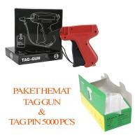 [PAKET HEMAT] Tag Gun - Alat Tembak Pasang Label + REFILL 5000 Pcs (W)