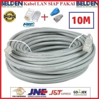 Kabel LAN Belden 10 M UTP RJ45 Cat5E ORIGINAL USA 10 Meter