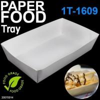 PAPER LUNCH BOX TRAY - LUNCH TRAY MEDIUM - FOOD GRADE TRAY MEDIUM