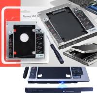 HDD Harddisk Second Caddy Slim Hardisk Case 12.7mm SSD Sata For Laptop