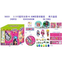 Shopkins Surprise Ball Satuan 56331 Mainan Anak