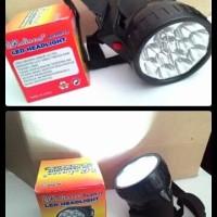 LED Headlight Senter Kepala Rolinson 12 LED RL 399 12 Murah Comfy