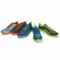 Galeri Sepatu Running Olahraga Lari KETA 181 Grey Orange