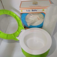 Pispot Bayi-Alat Untuk Melatih Baung Air Iq Baby IQ-52 Travel Potty