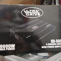 Power ULTRA DRIVE seri UD-600.4.9000what.4chenel.audio mobil murmer