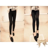 L42 TSP1248-Black , import pants lace fit body, suitable for size S