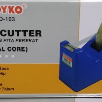 Tempat Solatip / Tape Dispenser / Tape Cutter / Pemotong JOYKO TD-103