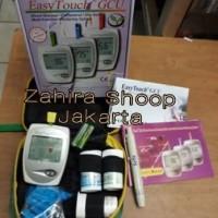 Alat Cek Gula Darah , Kolesterol & Asam Urat GCU 3in1 EasyTouch 3 in 1