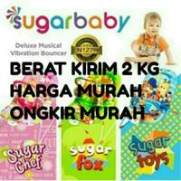 Sugar Baby Bouncer 1 Recline Deluxe Musical Vibration