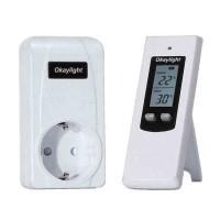 Okaylight Stop Kontak Wireless Thermostat Temperatur - OPS100+