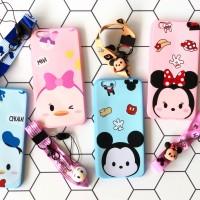 Macaroon Disney Case redmi 5a free tali