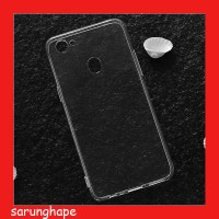 Clear Soft Case Casing Transparan Oppo F7