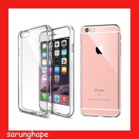 Clear Soft Case Casing Transparan iPhone 6 - 6s