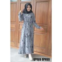 Greya dress-gamis premium-gamis motif-gamis murah