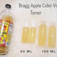 Bragg Organic Apple Cider Vinegar Cuka Apel share 100ml Toner Wajah