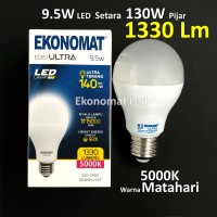 Lampu LED Ekonomat ULTRA 1330 Lm 9,5W Warna Matahari 5000K Bohlam