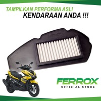 Ferrox Filter Udara Yamaha Aerox 155