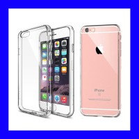 iPhone 6 Plus - 6s Plus - Clear Soft Case Casing Cover Transparan