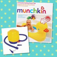 munchkin bak mandi bayi munchkin inflatable baby bath tub BONUS POMPA