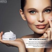 Ertos Why Acne Night Treatment - Skincare Original BPOM