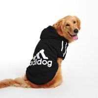 Baju Anjing Pakaian Anjing Jaket Anjing dengan Hoodie