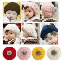 Topi Nanas / Pineapple Hat Topi Anak Rajut Kupluk Korea Tersedia 5 war