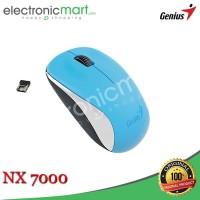 Wireless Mouse Genius NX7000 NX-7000 - Biru
