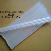 Lem bakar / Lem Tembak Kecil 27cm (7mm) / Refill Glue Gun Origin